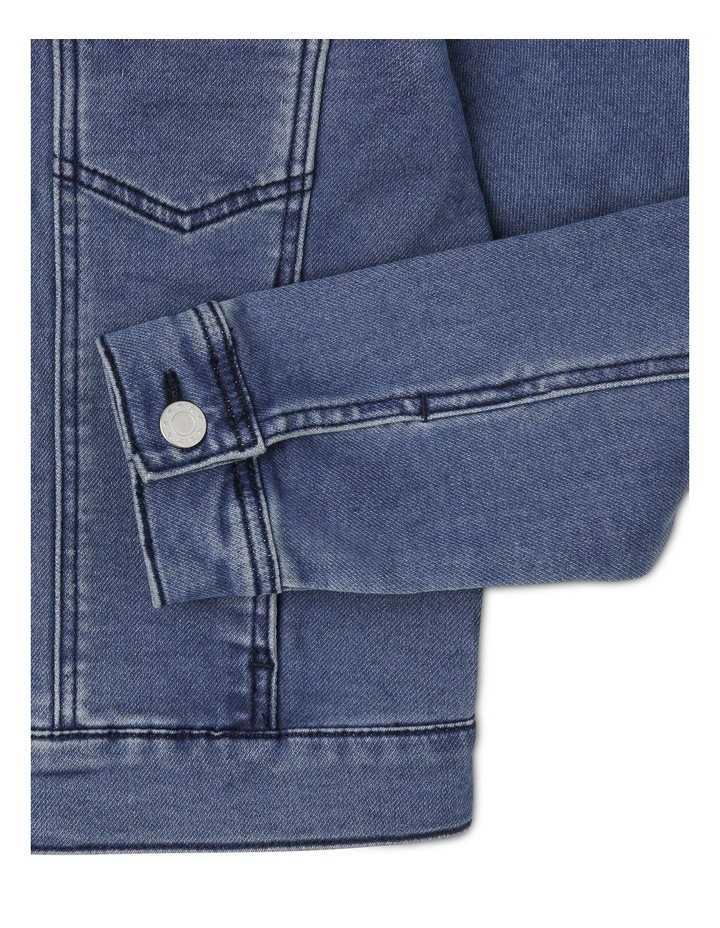 Knit Denim Jacket image 3
