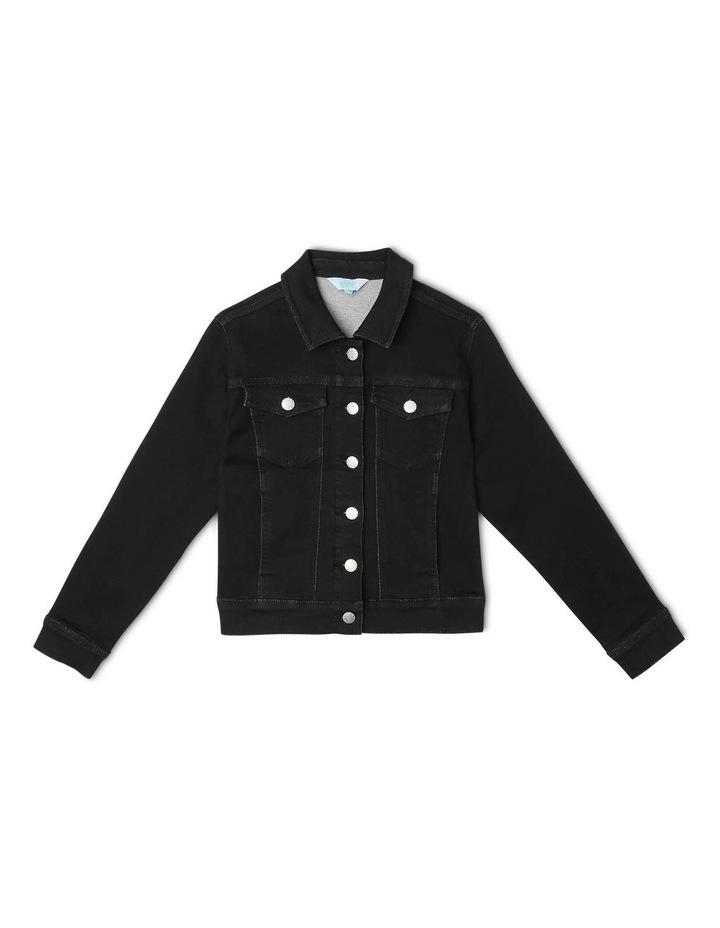 Knit Denim Jacket image 1