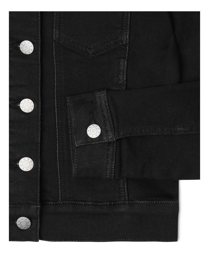 Knit Denim Jacket image 3