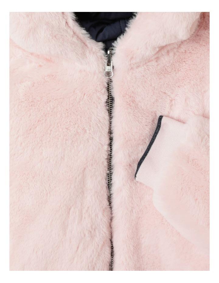 Reversible Fur Bomber Jacket image 5