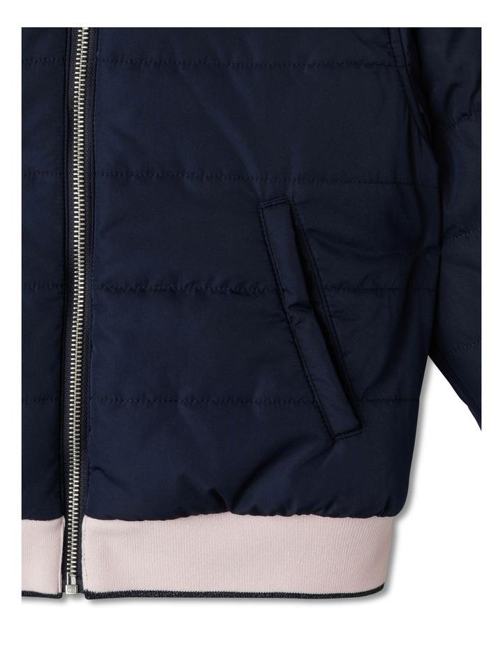 Reversible Fur Bomber Jacket image 7