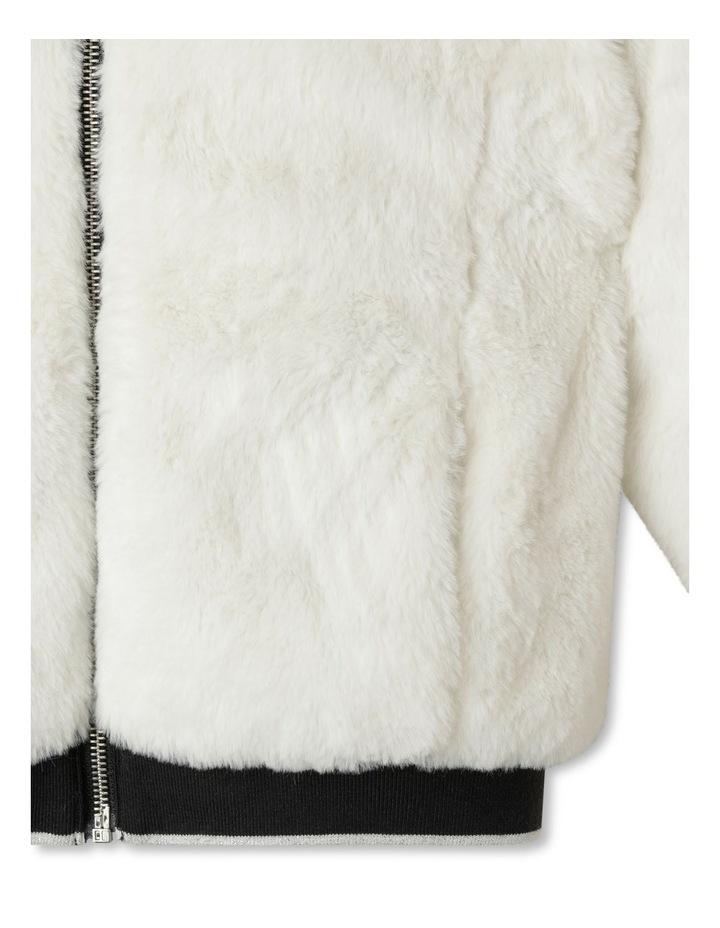 Reversible Fur Bomber Jacket image 4