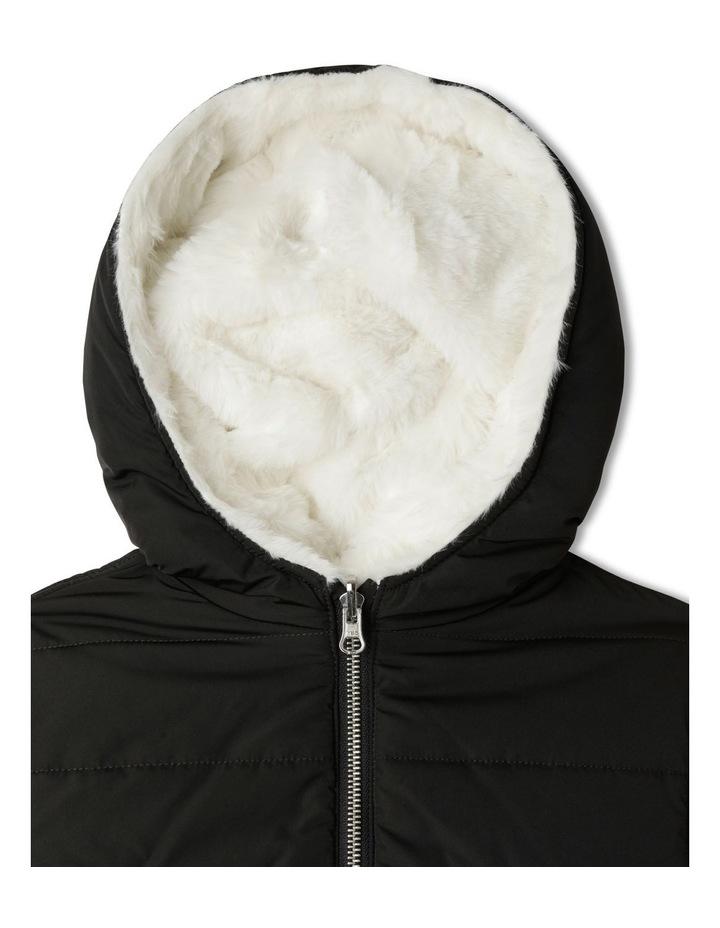 Reversible Fur Bomber Jacket image 6