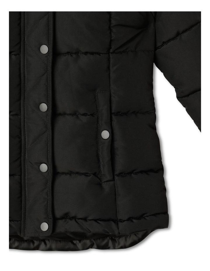Longline Puffer Jacket image 5