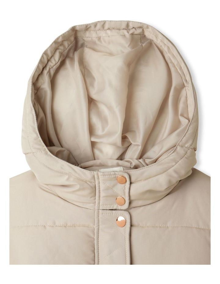 Longline Puffer Jacket image 2