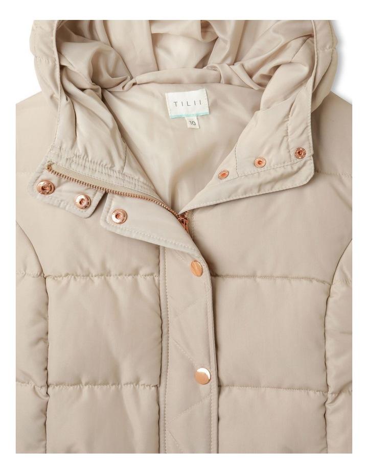 Longline Puffer Jacket image 3