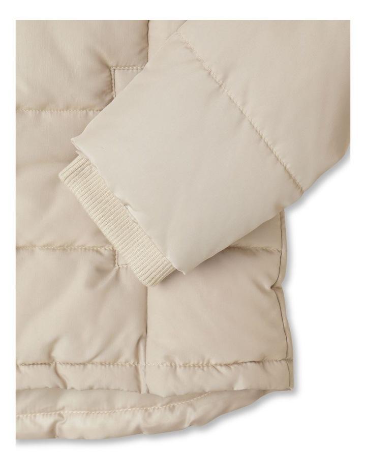 Longline Puffer Jacket image 6