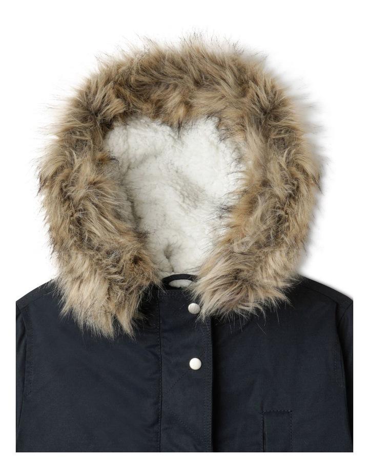 Anorak Jacket with Fur Hood image 2
