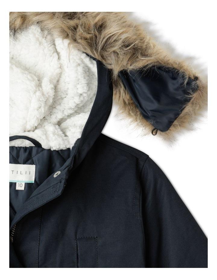Anorak Jacket with Fur Hood image 3