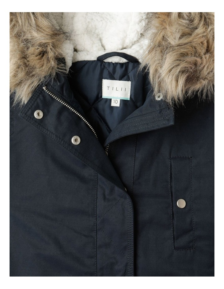 Anorak Jacket with Fur Hood image 4