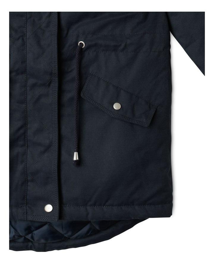 Anorak Jacket with Fur Hood image 5