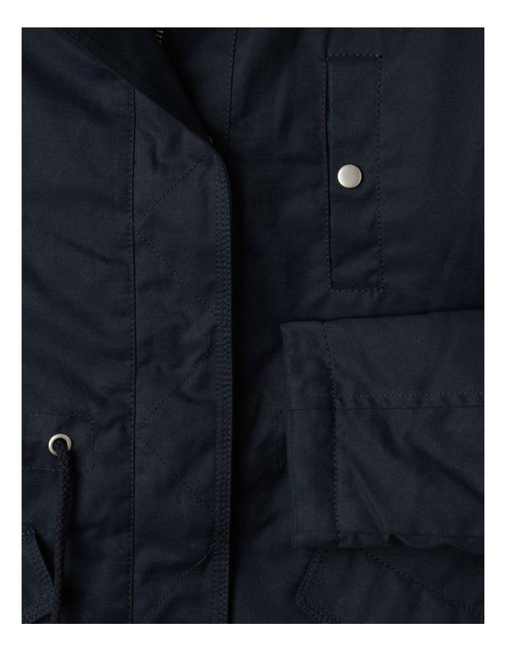 Anorak Jacket with Fur Hood image 6