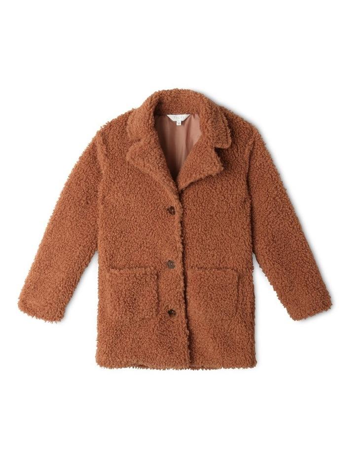 Teddy Fur Longline Coat image 1