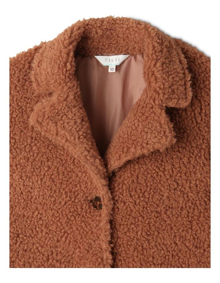 Teddy Fur Longline Coat image 2