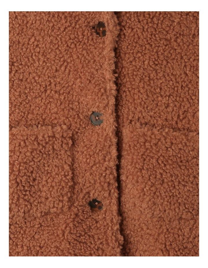 Teddy Fur Longline Coat image 3