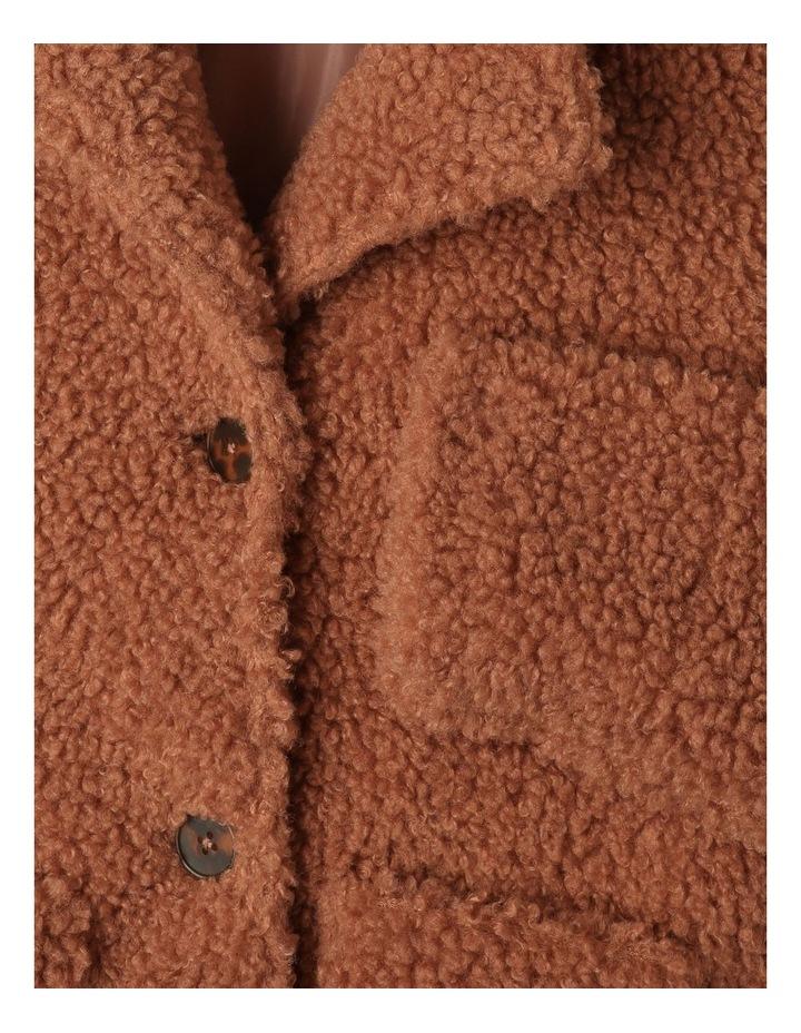 Teddy Fur Longline Coat image 4