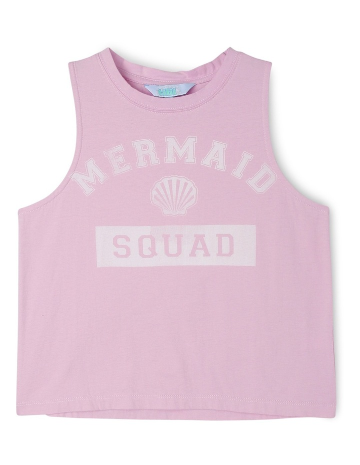 4ae223329 Essentials Print Tank - Mermaid Squad image 1
