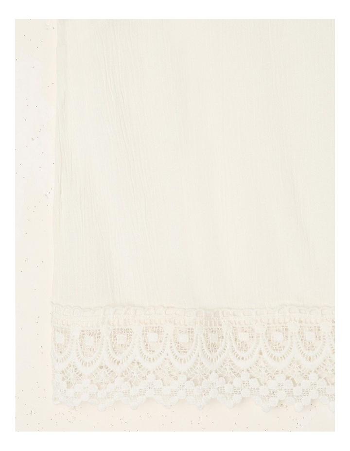 Woven Lace Trim Singlet image 3