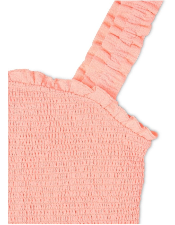 Woven Shirred Cropped Singlet image 2