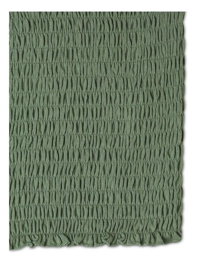 Knit Shirred Singlet image 3
