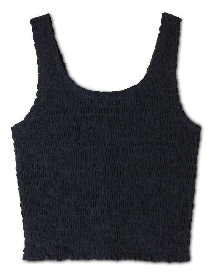 Knit Shirred Singlet image 1