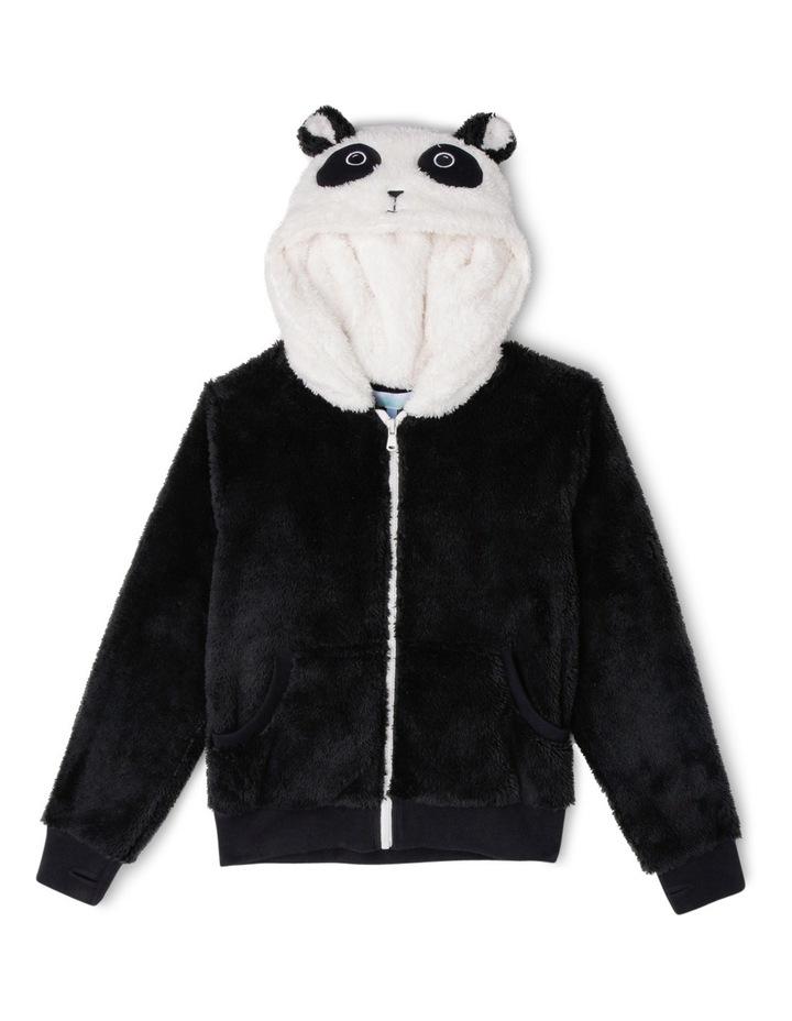 Zip Through Panda Sweat With Ears image 1