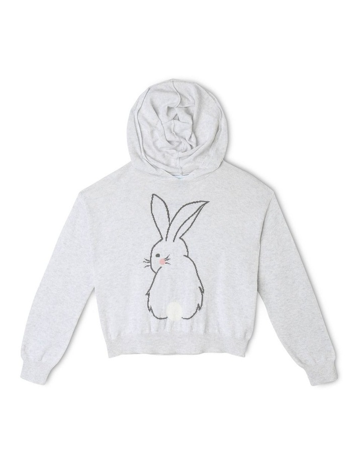 Knitted Bunny Hoody image 1
