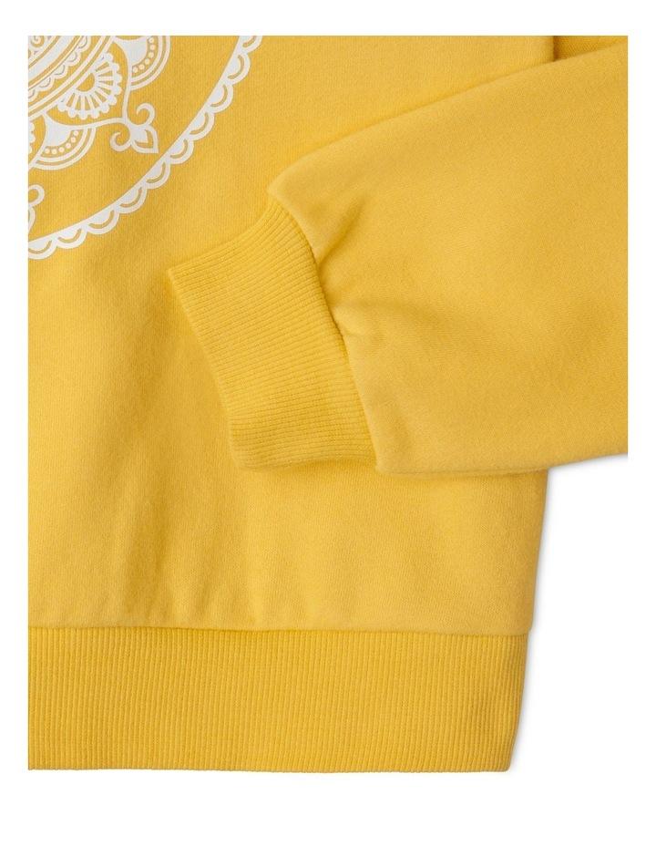 Essentials Sweat Top Mustard image 3