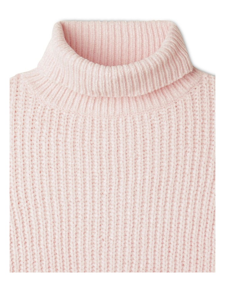 Chenille Roll Neck Jumper image 3