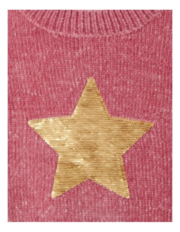 Knitted Chenille Sequin Jumper image 3