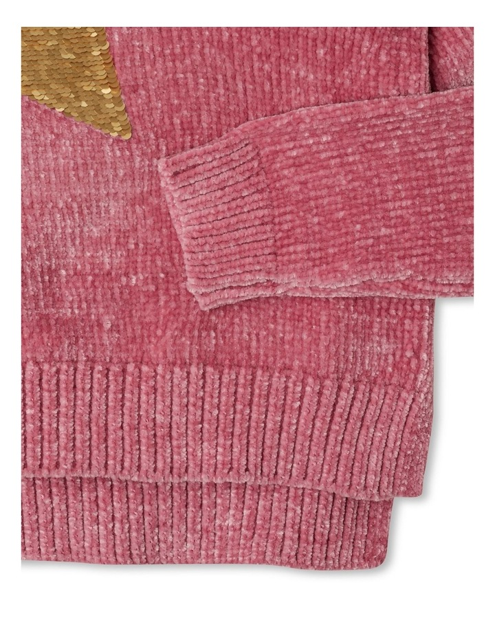 Knitted Chenille Sequin Jumper image 4