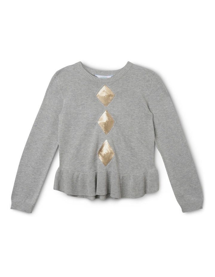 Sequin Cable Knit Jumper image 1
