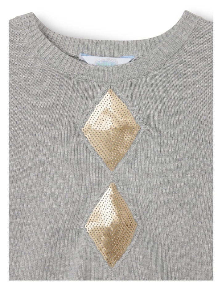 Sequin Cable Knit Jumper image 2