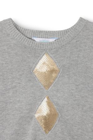 Tilii - Sequin Cable Knit Jumper