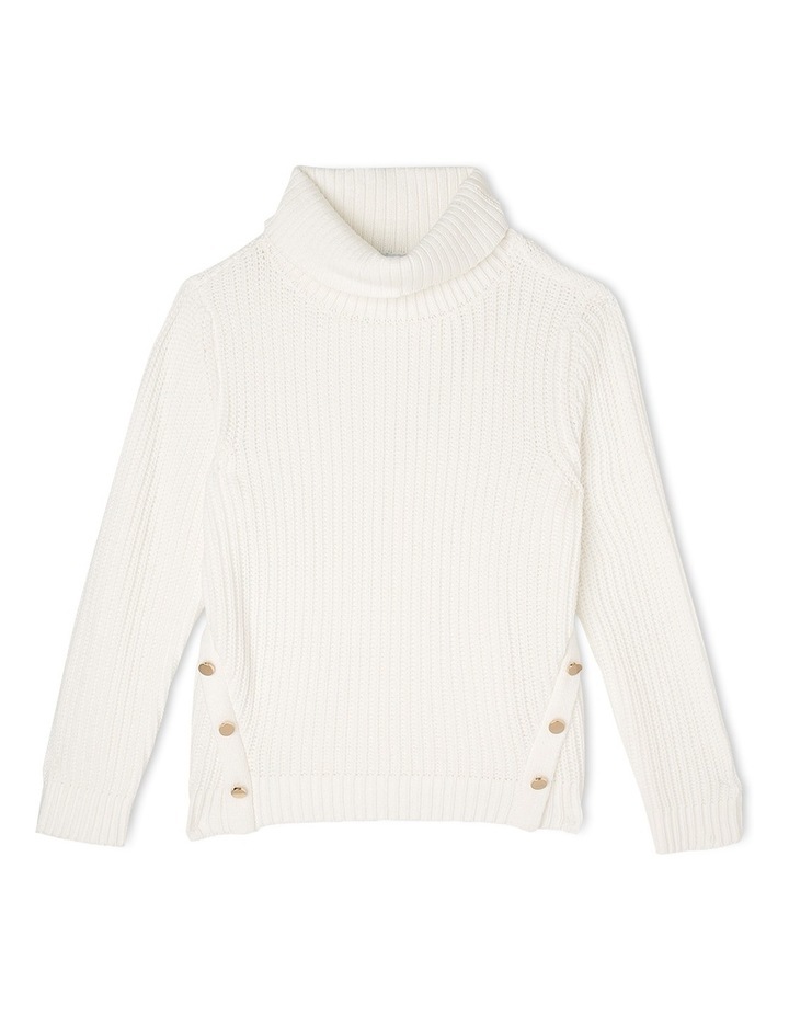 Vanilla Roll Neck Knit image 1