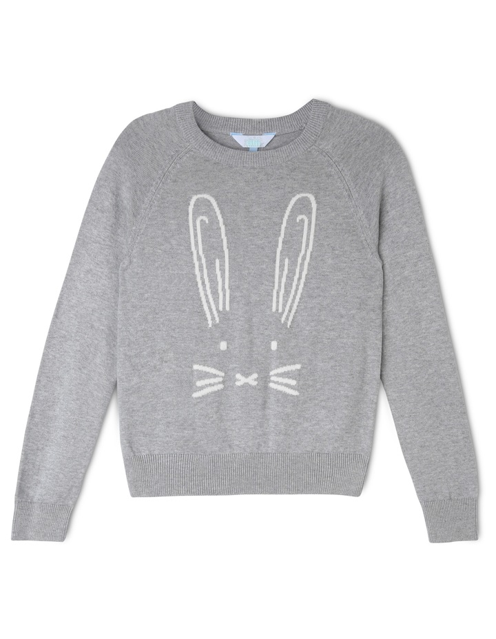Bunny Knitted Jumper image 1