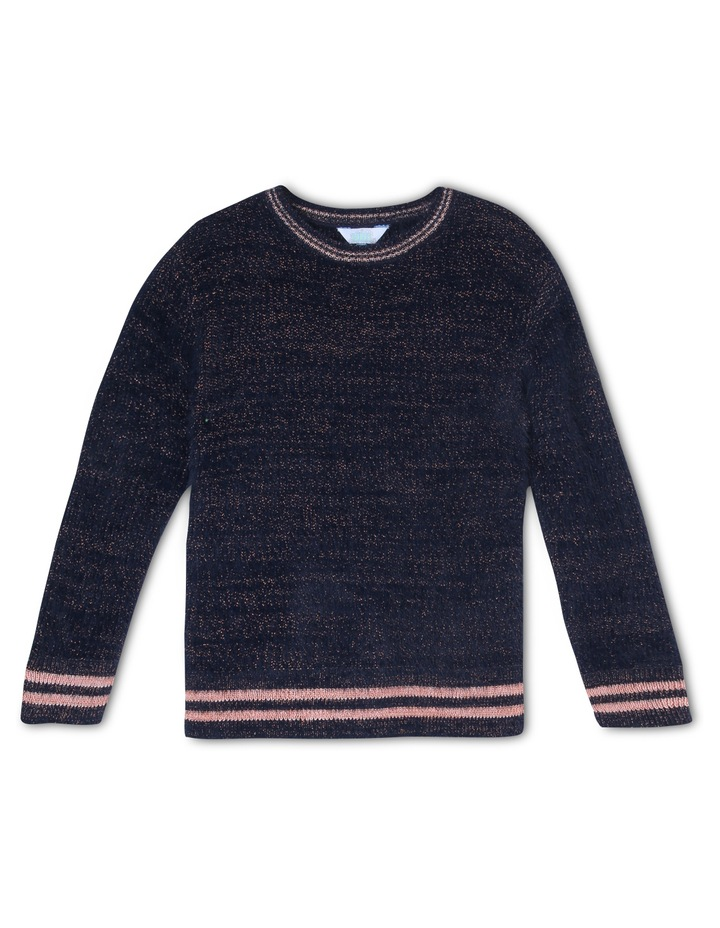 Fluffy Knitted Jumper image 1