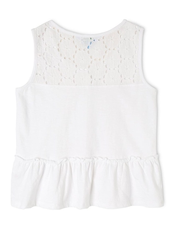 Knit Lace Singlet With Peplum image 2