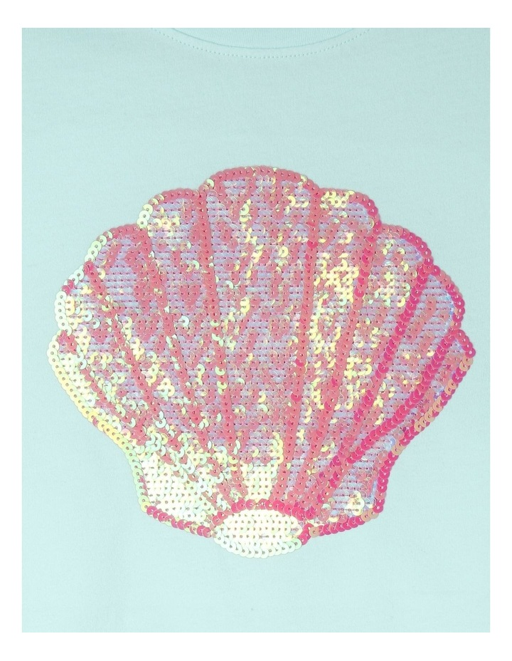 Knit Seashell Sequin Tee image 2