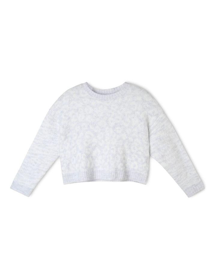 Cropped Knit Jumper image 1