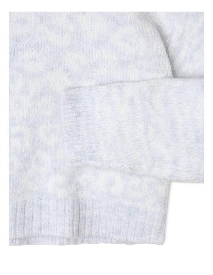 Cropped Knit Jumper image 3