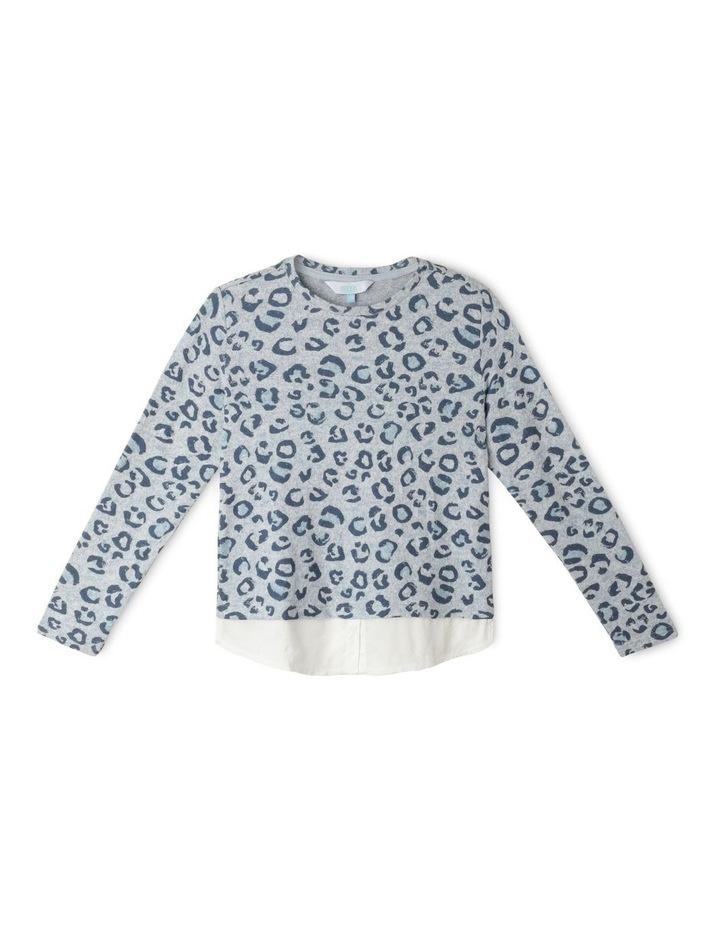 Knit Look Woven Shirt image 1