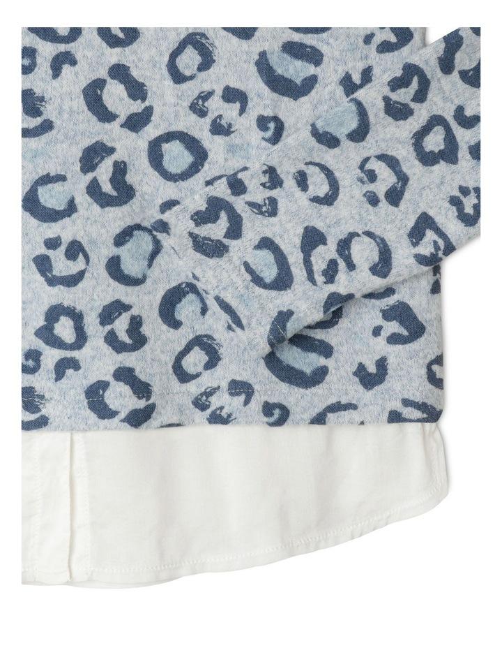 Knit Look Woven Shirt image 2