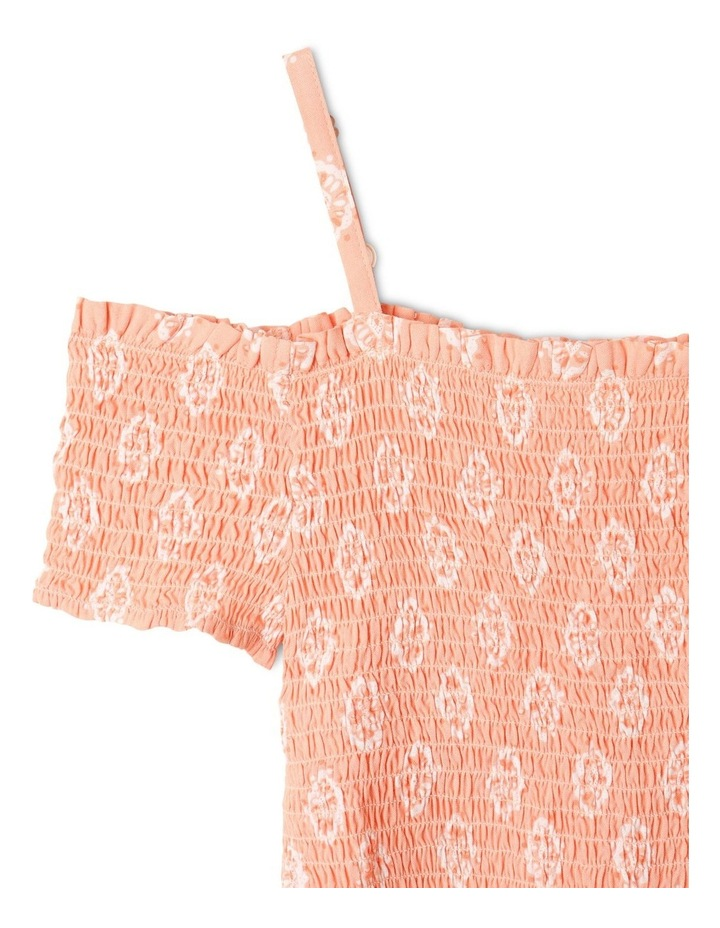 Woven Shirred Top image 2