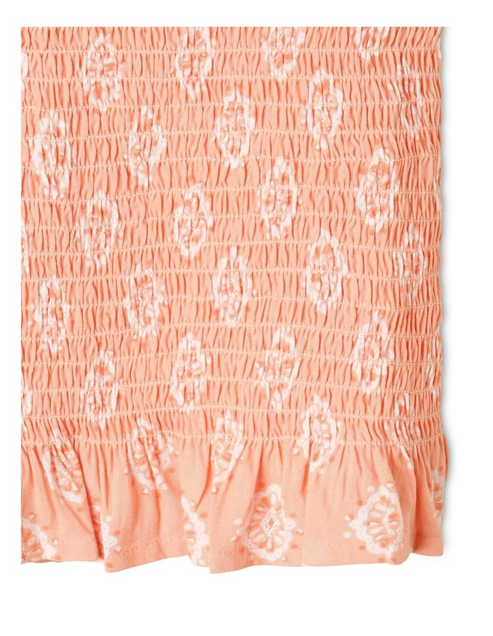 Woven Shirred Top image 3