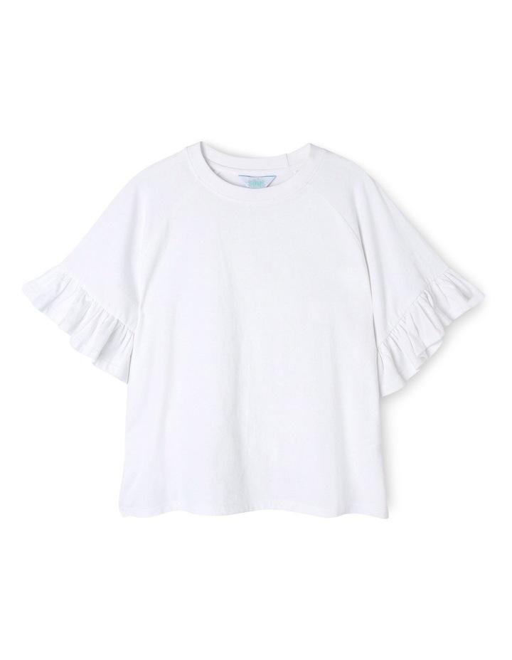 Drop Shoulder Tee - White image 1