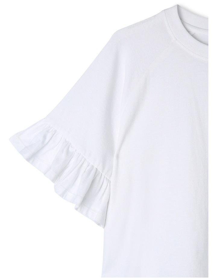 Drop Shoulder Tee - White image 2