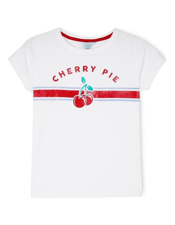 Essentials Print Tee - Cherry Pie image 1