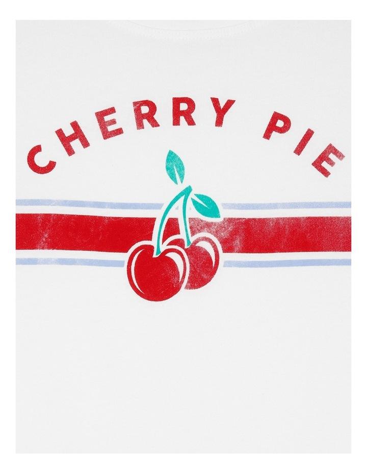 Essentials Print Tee - Cherry Pie image 2