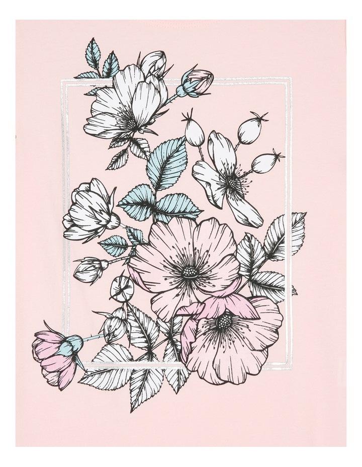 Essentials Print Tee - Floral Frame image 2